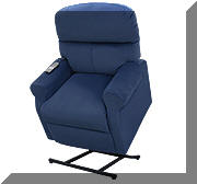 View detail information about the 'Lift Chair - Navy Blue' - Lift Chairs